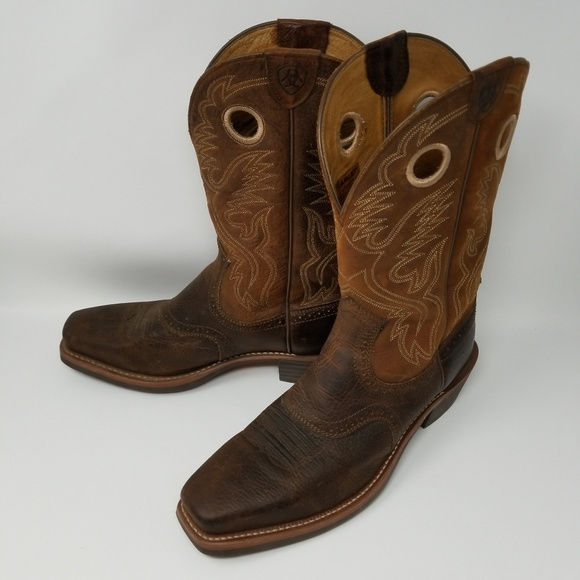 9d76f085289 Ariat Heritage Roughstock Cowboy Boots Size 12 EE